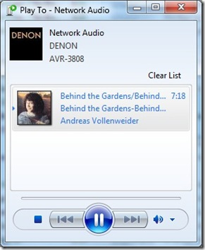 Denon Network Issue 6