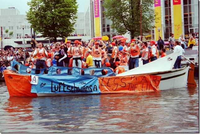 Canal Parade - GayLM Boat