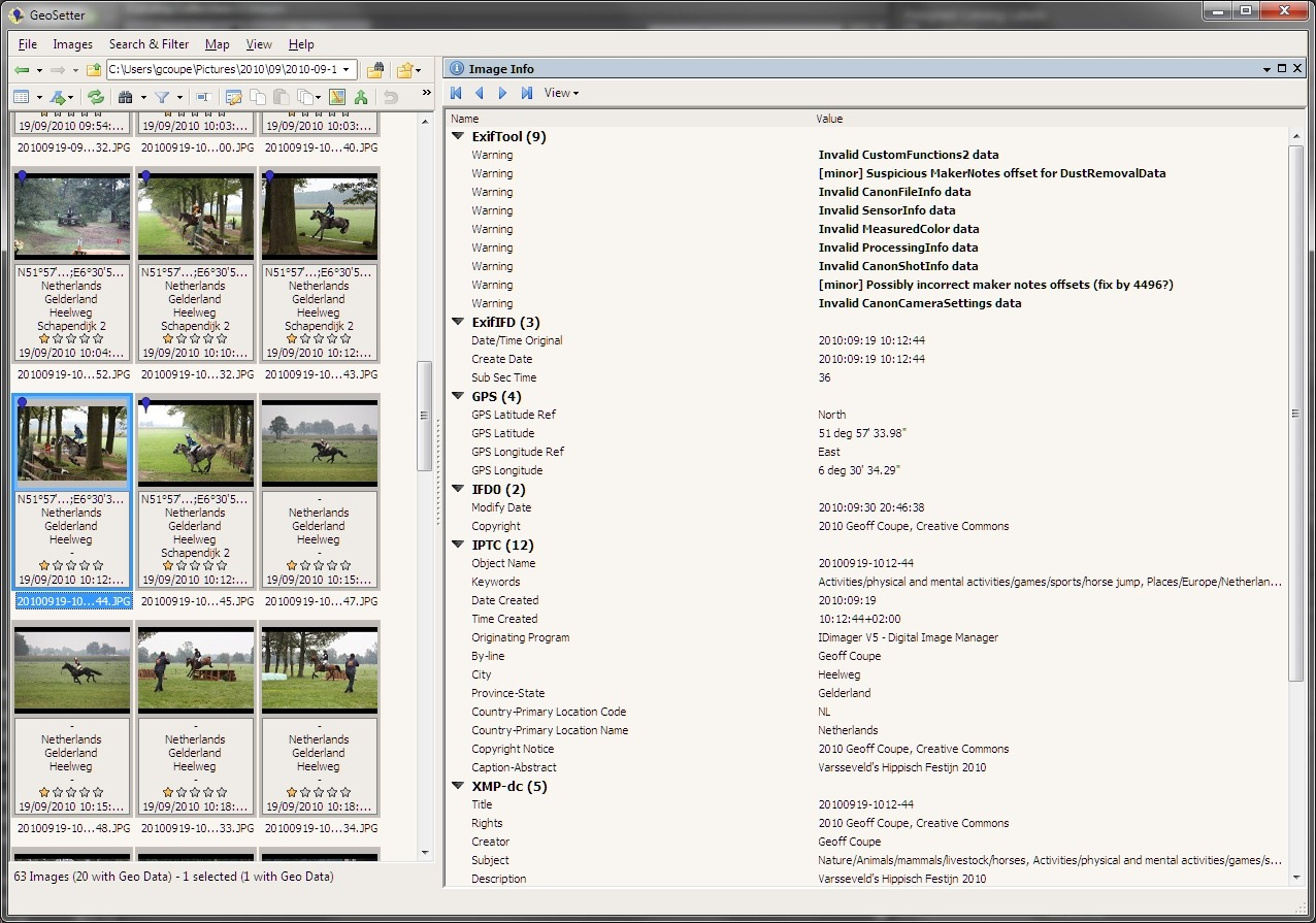 More Problems With Windows Live Photo Gallery 2011 Geoff