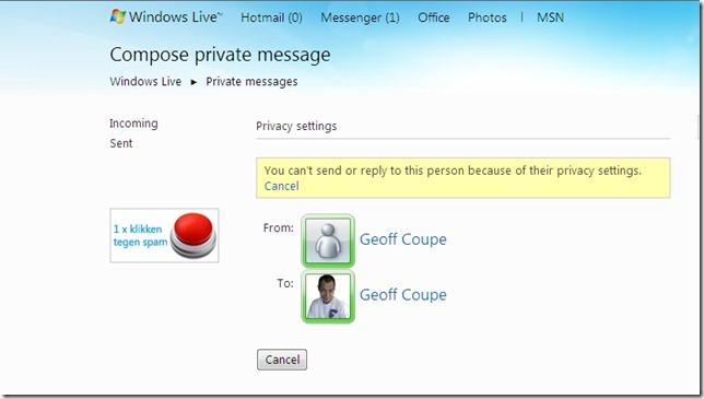 Windows Live Home 3
