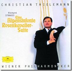 Cover- Wiener Philharmoniker _Orchestra_- Strauss, R. Eine Alpensinfonie; Rosenkavalier-Suite