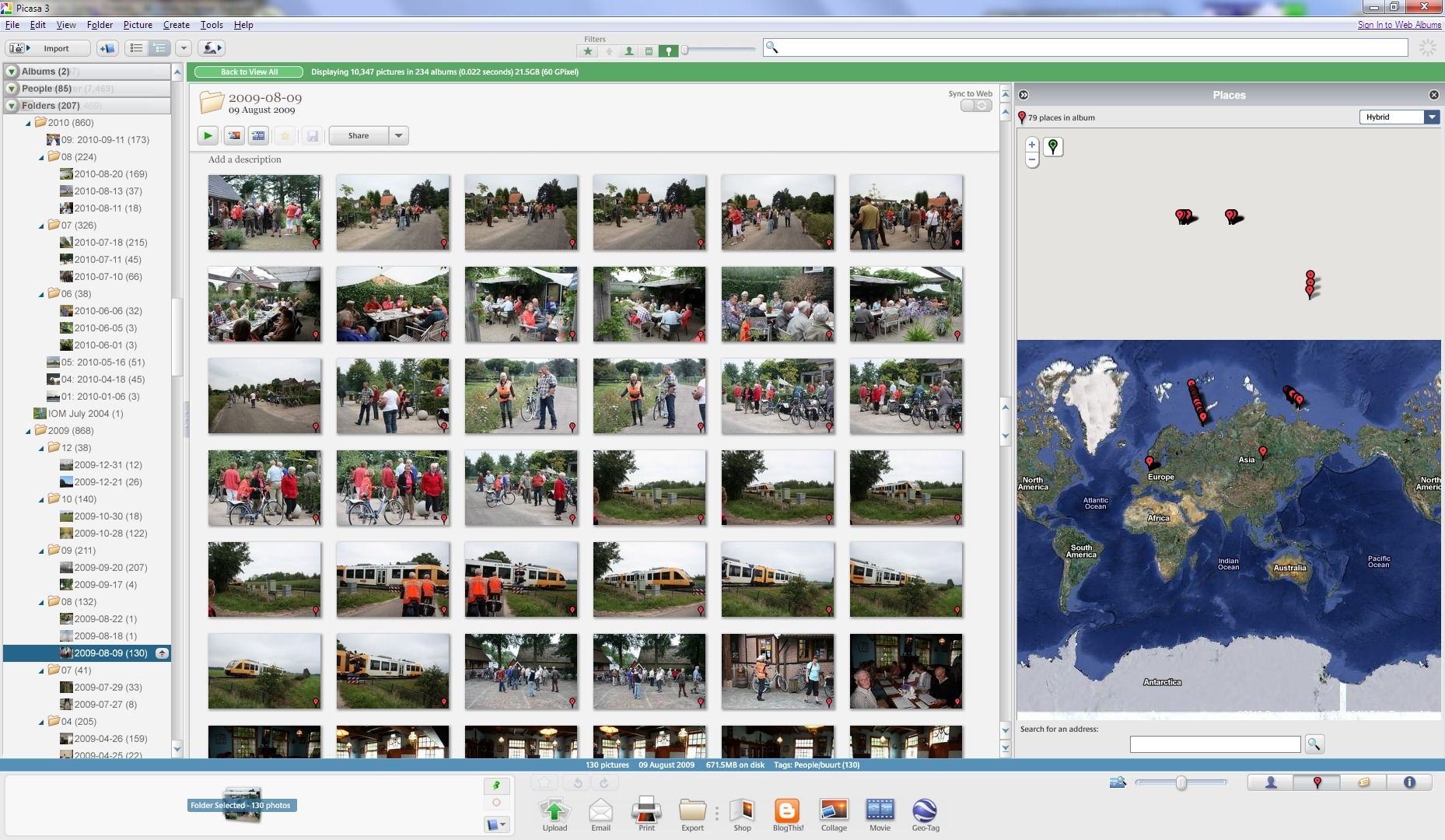 Picasa Versus Windows Live Photo Gallery Geoff Coupes Blog