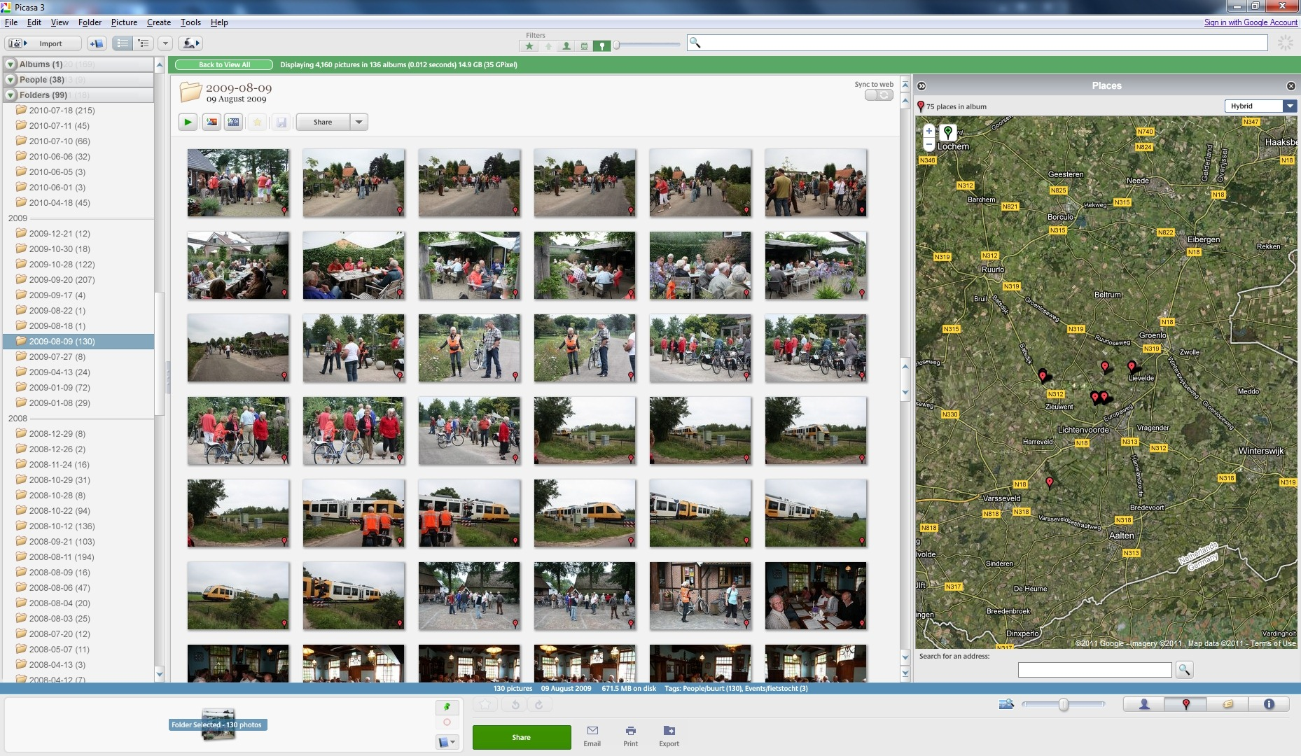 Picasa Versus Windows Live Photo Gallery Geoff Coupe S Blog