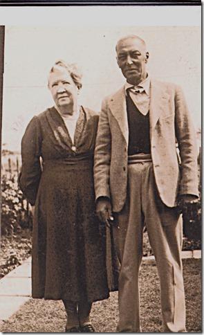 Grandparents Kate & Ted Johnson 1942.