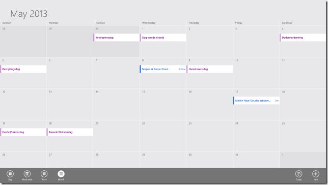 Calendar App 01