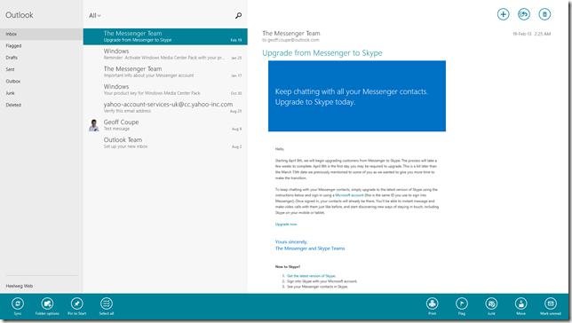 Mail App 01