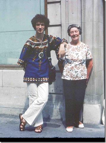 Mum & Geoff 1975